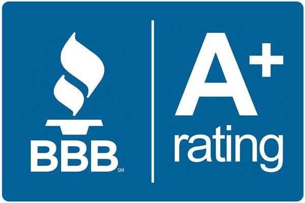 sena-tech has an A+ BBB rating